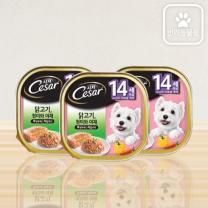 시저 닭고기 멀티팩 (14세이상)(100G*3입)