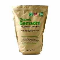 게마드로 유기농 커피 (홀빈)(1KG)