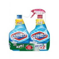 유한락스 욕실청소 세정제(850ML*2입)