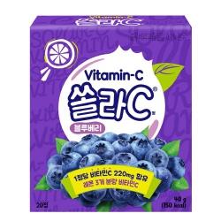 쏠라C 블루베리맛(2G*20정)