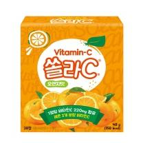 고려은단 쏠라C 오렌지맛(2G*20정)