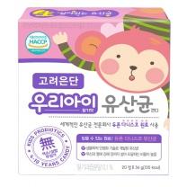 고려은단 우리아이유산균 딸기맛(1.8G*20정)