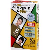 세븐에이트 염색약 (자연갈색)(60G)