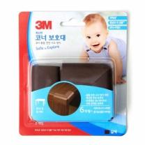3M 안전 코너보호 (갈색)(2입)