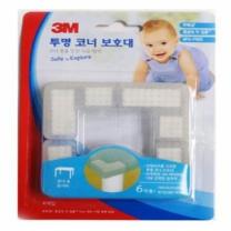 3M 안전 코너보호 (투명)(4입)