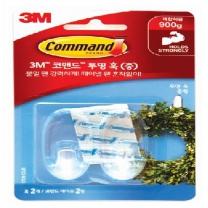 3M 코맨드 투명 후크 (중형)