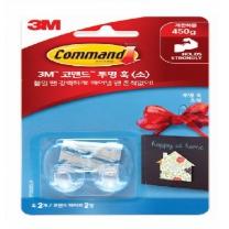 3M 코맨드 투명 후크 (소형)