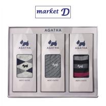 아가타 남성 캐주얼양말세트 (SAG8006)(3족) 설선물세트