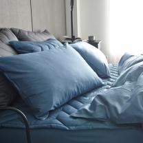 룸바이홈 순면베개커버(블루)(50*70)