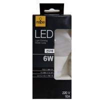 네이프 LED 전구 (전구색)(6W)