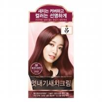 려 우아채 멋내기 새치 (버건디)(48G)