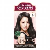 려 우아채 멋내기 새치 (흑갈색)(48G)