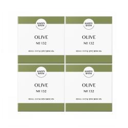해피바스 비누 (올리브)(100G*4입)