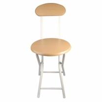 우드등받이 접이식 의자(30*43*74 CM)