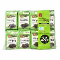 초이스엘 고소한 식탁 재래김(9매*24봉)