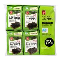 초이스엘 고소한 식탁재래김(9매*12봉)