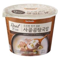 요리하다 Real 큰컵밥 사골곰탕국밥(460G)