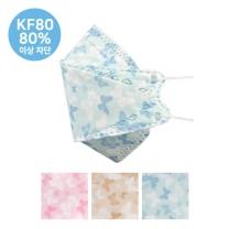 It. 나비 황사 마스크 (KF80)(3입)