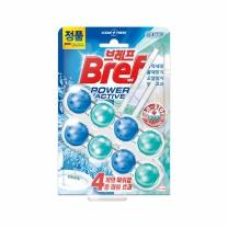 헨켈 브레프 파워액티브 변기세정제 깨끗한향(50G*2입)