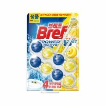 헨켈 브레프 파워액티브 변기세정제 레몬향(50G*2입)