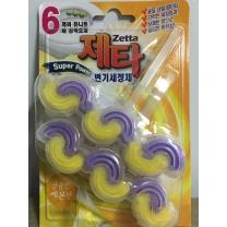 제타 변기세정제 (레몬)(45G*2입)