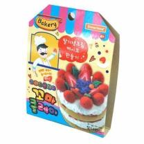 꼬마클레이 딸기생크림 케이크