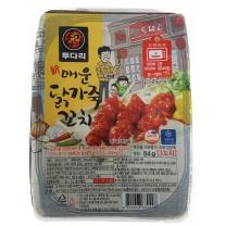 투다리 매운 닭가죽꼬치(84G)
