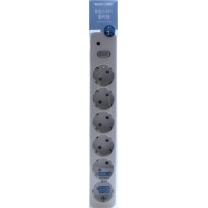룸바이홈 통합 멀티탭 6구 (3M)