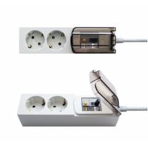 룸바이홈 대용량 멀티탭(2구, 2M)