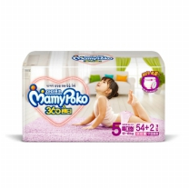 마미포코 팬티기저귀 박스 (여아,특대형)(54개)