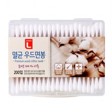 초이스엘 멸균우드면봉(200개)