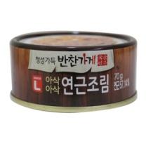 초이스엘 아삭아삭 연근조림(70G)