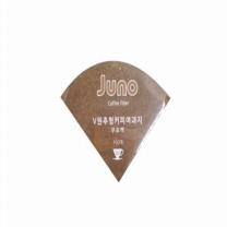 쥬노 원추형 여과지 (무표백)