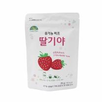 유기농 퍼프 딸기야(25G)