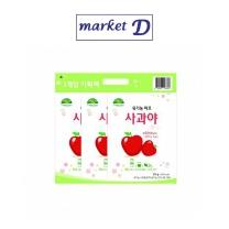 유기농 퍼프 사과야(25G*3)