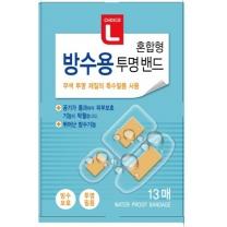초이스엘 방수용 투명밴드 (혼합형)(13매)