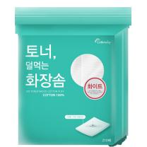 코튼데이 토너 덜먹는 화장솜(210매)