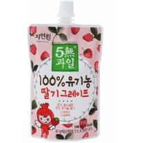 5無과일 유기농 딸기그레이프(100ML)