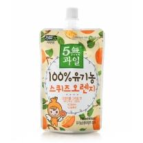 5無과일 유기농 스퀴즈오렌지(100ML)