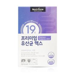 뉴트리원 프리미엄 유산균 맥스(2G*30포)