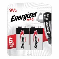 에너자이저 맥스 9V(2입)