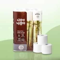 나무야나무야 내추럴 3겹 화장지(35M*30롤)
