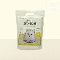 초이스엘 콩에서온 고양이모래 (녹차)(7L)