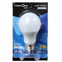장수 LED 전구 (주광색)(8W)
