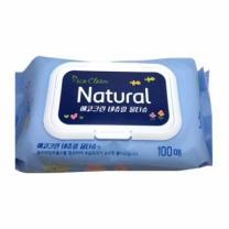 에코그린 네츄럴 물티슈(100매)
