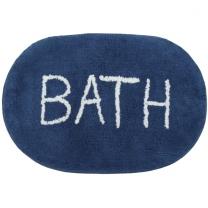 BATH 면 매트 (네이비)(40*60CM)