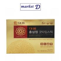대웅 홍삼정 굿타임스틱(10G*30포) 설선물세트