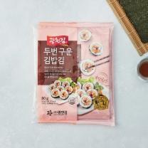 두 번 구운 김밥김(20G(10매)*4봉)