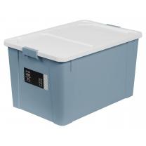 심플 리빙박스 (블루)(75L)