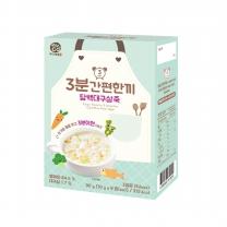 우리애들밥상 3분간편 담백대구살죽(90G)